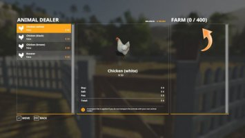 Animal Screen Extended fs19
