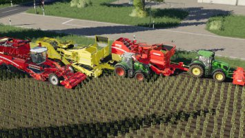 Carrots, onions and cabbage crops Potatoes and sugarcane V1.5 FS19