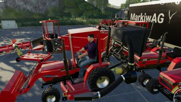 CASE IH 235 lawn Tractor and Car Hauler Mod Pack v2.0