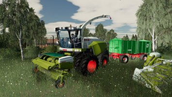 Claas Jaguar 800 Pack v1.2 fs19