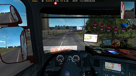 GPS RG ETS2 PRO 1 01 UPDATED 1 35 X - ETS2 Mod | Mod for Euro Truck