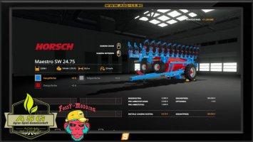 Horsch Maestro SW2475