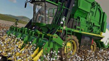 John Deere Cotton DLC fs19