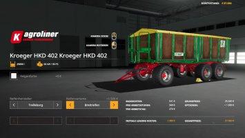 Kroeger HKD 402 Siebdruck v1.1 fs19