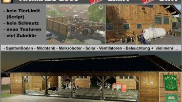 Kuhstall 2000 ohne Tierlimit + keine Verschmutzung + Zubehör v1.3