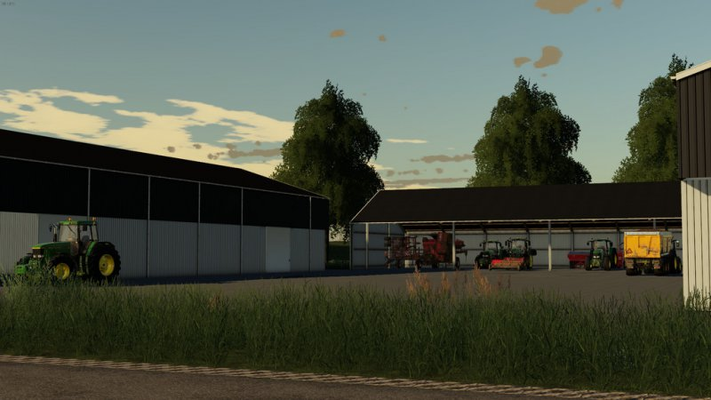 Machinesheds FS19