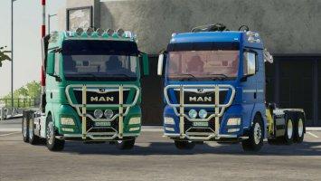 MAN TGX Forest Semitrailer Pack v1.1.0.1 fs19