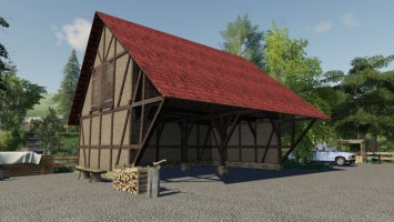 Timberframe Barn With Attic v1.1 fs19