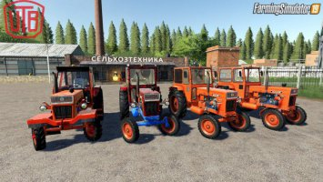 UNIVERSAL UTB OLD ROMANIAN PACK TRACTORS
