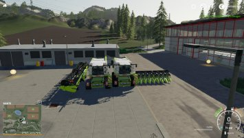 Claas Lexion 780 with capacity selection and cutters v1.1