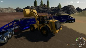 EXP19 TrailKing Belly Dump fs19