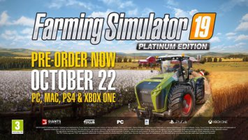 Farming Simulator 19 | Platinum Edition Teaser #1 [Claas DLC] news