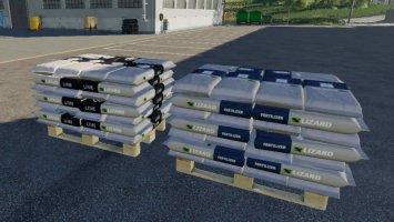 Fertilizer And Lime Pallet
