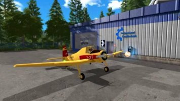 Hummel Z-37 Flying Fertilizer Spreader fs17