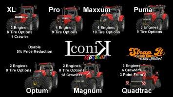 Iconik Case Tractors