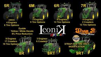 Iconik John Deere Tractors