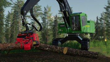 John Deere 959MH Tracked Harvester v2 fs19