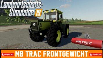 MB Trac Frontgewicht fs19