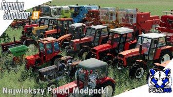 Modpack Polskich Maszyn fs19