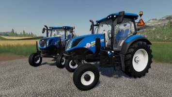 New Holland T6 - 2WD fs19