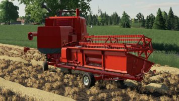 Bizon Z056 Cutter Trailer fs19