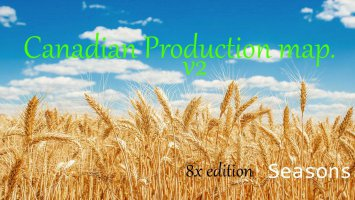 Canadian Production Map. 8x Seasons v2.0