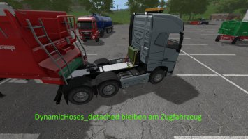 DynamicHoses for SattleTrucks FS19