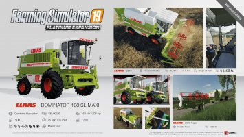 Farming Simulator 19 Platinum fact sheet #1 news