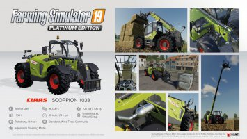 Farming Simulator 19 Platinum fact sheet #2 news