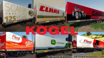 FS19 MEGA KOGEL TRAILERS PACK