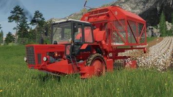 Harvester MTZ80 for cotton fs19