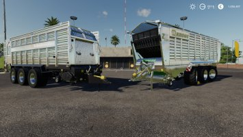 Ladewagen Modpack Color / Chrome Edtion fs19