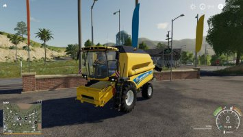 New Holland TC 5.90 - lightExtension fs19