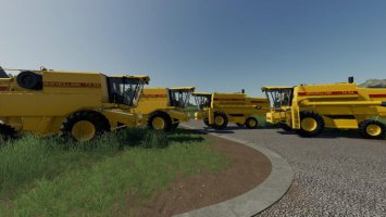 New Holland TX Series Beta fs19