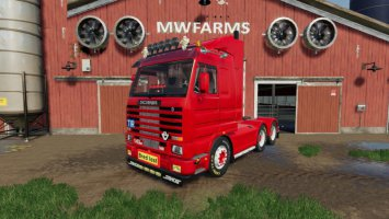 SCANIA 143 6×4 SWEDISH EDIT