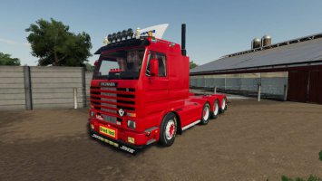 SCANIA 143 8×4 SWEDISH EDIT