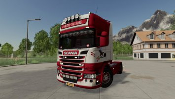 Scania R-Series Topline 4x2 Aron Gielink