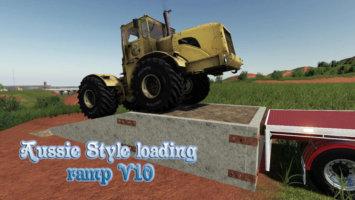 Aussie Style loading ramp