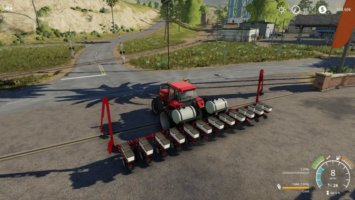 Case 12 row planter fs19