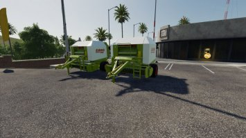 Claas Rollant 250 und 250 RotoCut v1.7