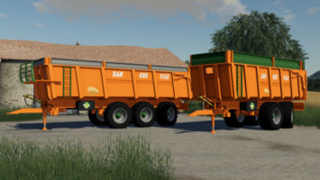 Dangreville Trailer Pack fs19
