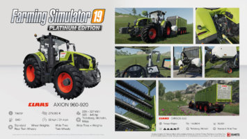 Farming Simulator 19 Platinum fact sheet #6 news