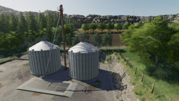 Grain Silo Set With Multifruit fs19