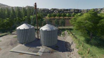 Grain Silo Set With Multifruit
