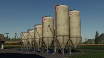 Hedemann Outdoorsilo Typ A fs19