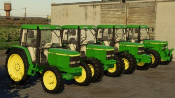 John Deere 6110 Series FS19