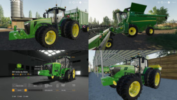 John Deere Updates By Stevie fs19