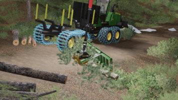 Kirmag Tree Waste Rake fs19