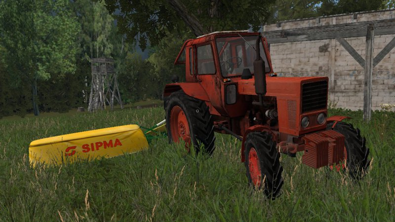 Kosiarka Sipma Preria 1600 - Zielona + nalypki FS17