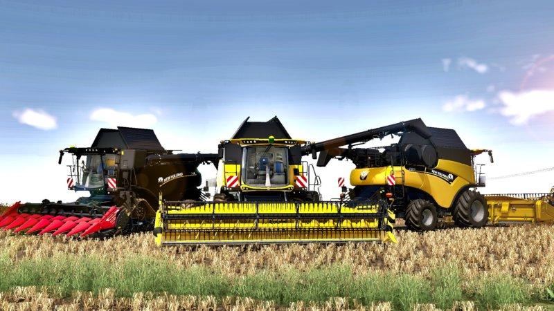 New Holland CR 8.90 FS19